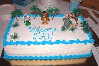 Tau's Cake