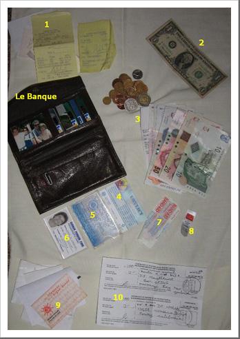 Inside le purse