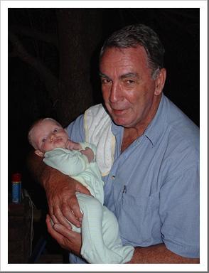 Dad and Tau, January 2006