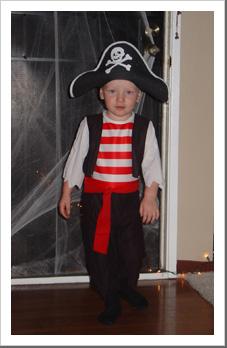 Cutest pirate ever!