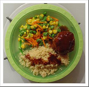 Tau's plate