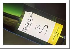Blackenbrook Sauvignon Blanc