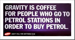 Gravity Coffee Billboard