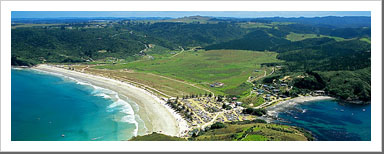 Aerial View of Matauri Bay