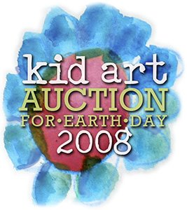 Kid Art Auction for Earth Day 2008